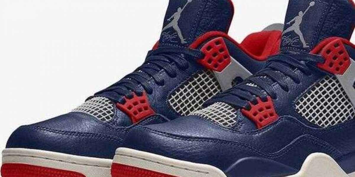 Shop Air Jordan Retro 4 SE Deep Grey Fire Red