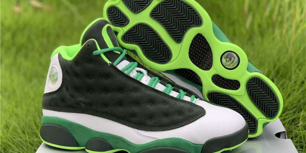 "Cheap Air Jordan 13 Retro ""Oregon Ducks"" PE Lucky Green AR4390-313"
